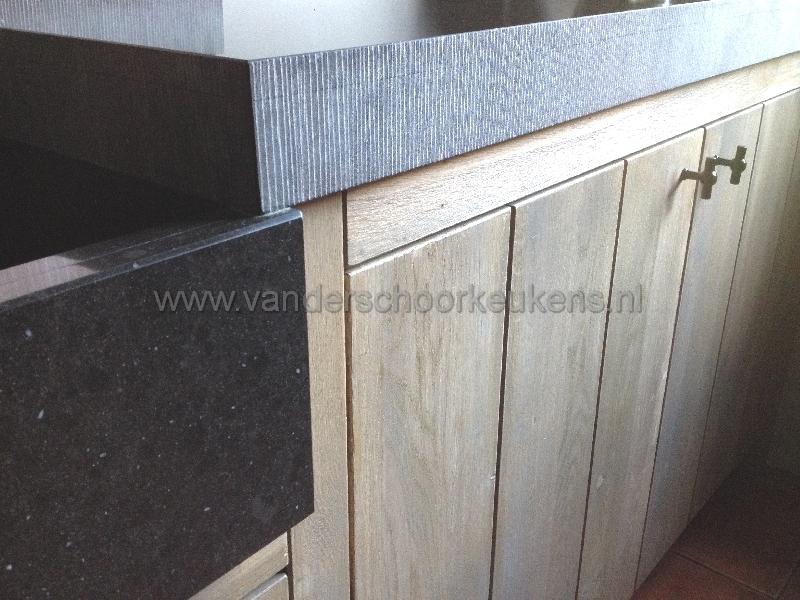 Stoere Keuken Grey : Stoere greywash maatwerk keuken
